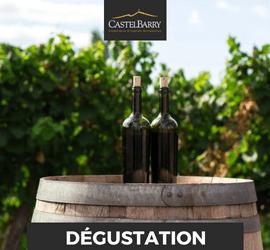 club de degustation castelbarry Montpeyroux mai