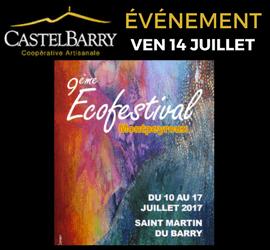Concert et dégustation – 9ème Ecofestival de Montpeyroux