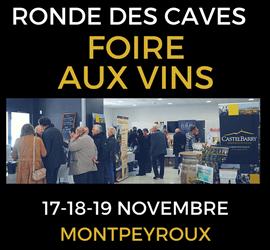 La Ronde des Caves 2017 -Rendez vous les 17,18 et 19 Novembre