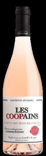 bouteille les coopains rosé castelbarry