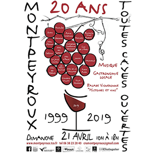 Toutes Caves Ouvertes Montpeyroux fête ses 20 Ans