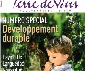 Terre de vins: un bel article dans le numéro spécial Développement durable