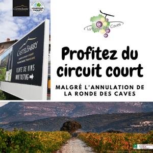 La Ronde des caves 2020 Profitez du circuit court et commandez en ligne